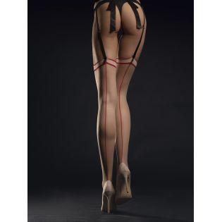 Madame Bas 20 DEN - Nude  Rouge