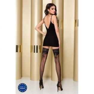 Bas Nylon Noirs Couture