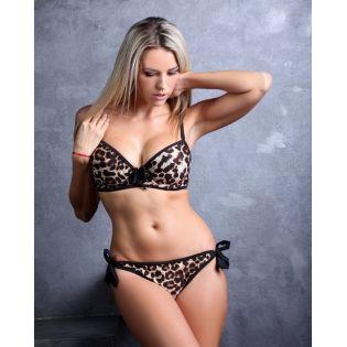 Maillot de bain léopard fauve