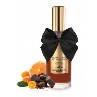 Huile de Massage Chauffante Chocolat