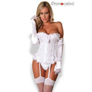 Corset Femme Blanc