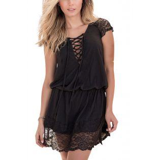 Dress black 4993