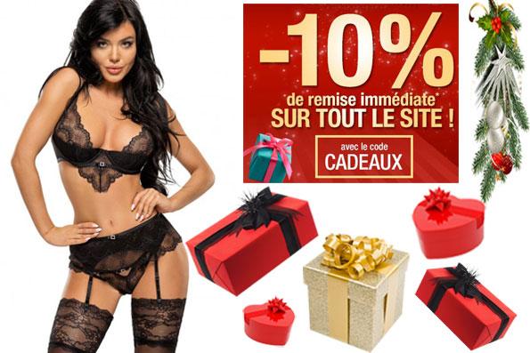 Idée Cadeau Noël Lingerie Sexy