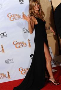 jennifer-aniston-robe-sexy-noire-longue